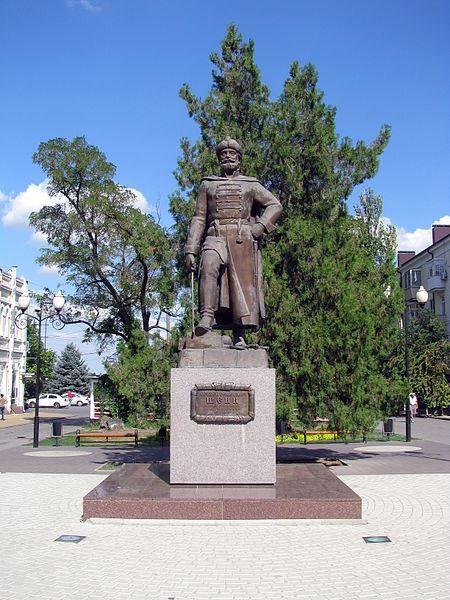 Памятник А.С. Шеину город Азов 2019