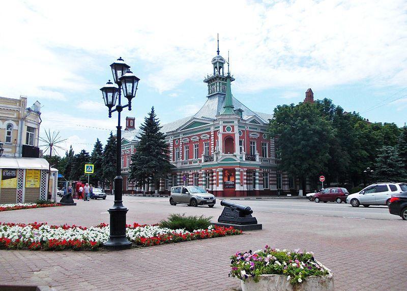 Историко-Архитектурный и палеонтологический музей-заповедник город Азов