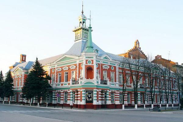 Скачать онлайн бесплатно фото красивых зданий город Азов в хорошем качестве