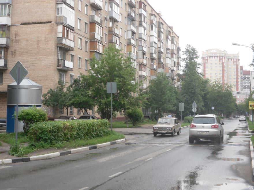 Улица Карла Маркса города Балашиха Московская область
