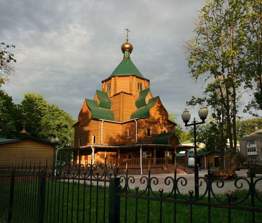 Церковь Иоанна Кронштадтского город Белгород