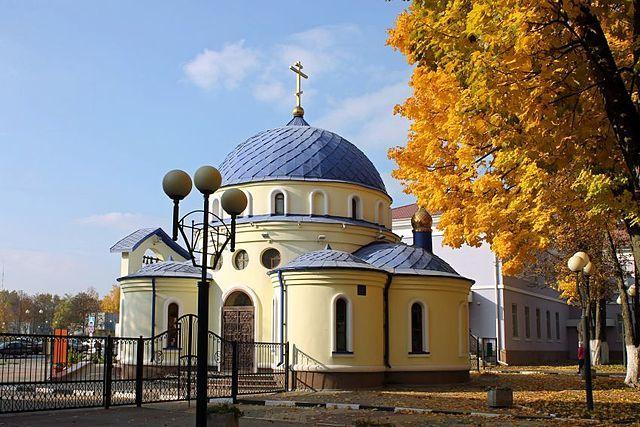 Церковь Матроны Московской город Белгород