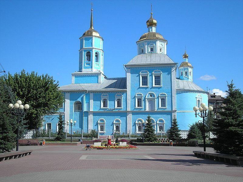 Смотреть красивое фото города Белгород Смоленский собор в хорошем качестве