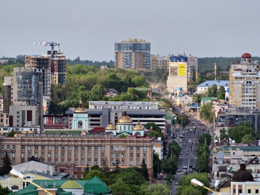 Смотреть красивый вид города Белгород в хорошем качестве