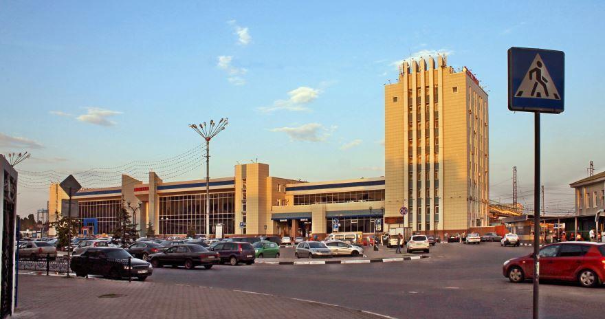 Железнодорожный вокзал город Белгород