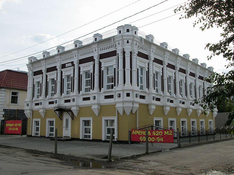 Дом Богородице Одигитриевской церкви город Барнаул