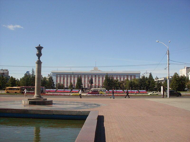 Смотреть лучшее фото Площадь советов город Барнаул 2018