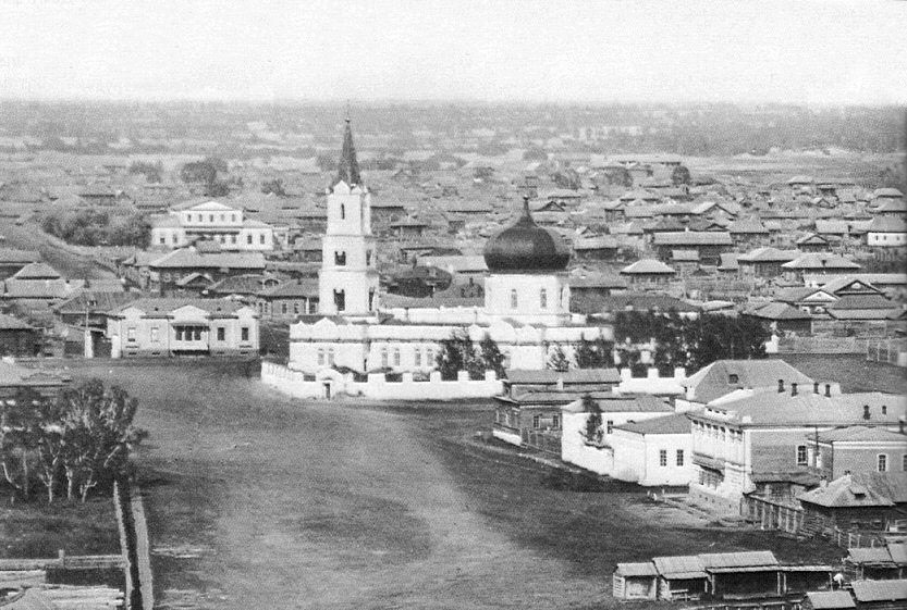 Смотреть лучшее старинное фото города Барнаул в хорошем качестве