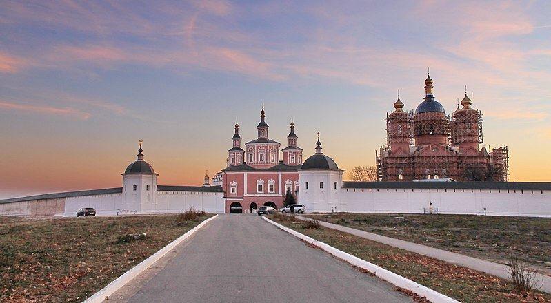 Ансамбль Свенского Успенского монастыря город Брянск