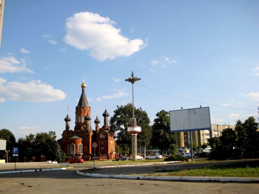 Спасогробовская церковь город Брянск