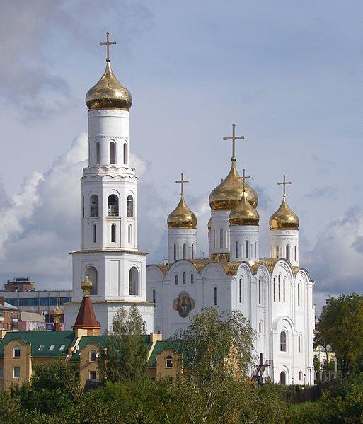 Кафедральный собор во Имя Святой Живоначальной Троицы город Братск