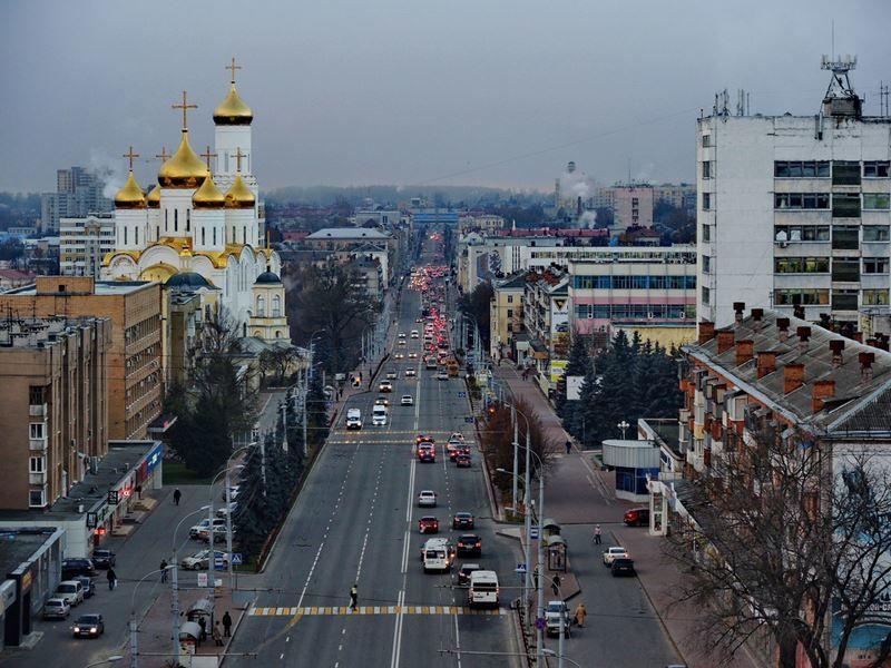 Смотреть красивое фото панорама города Брянск в хорошем качестве