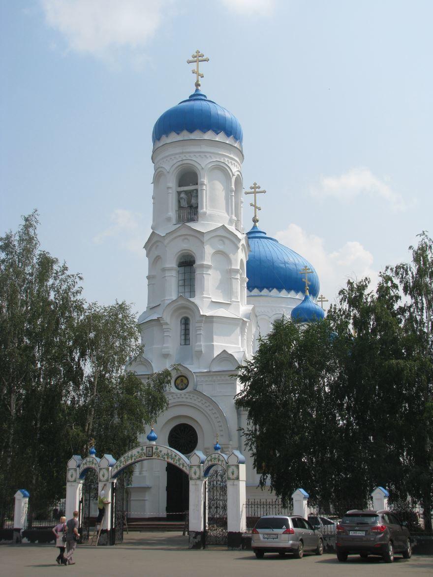Успенский Кафедральный собор город Бийск