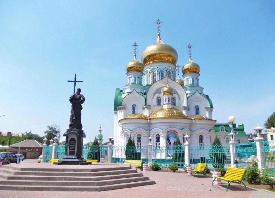 Свято-Троицкий храм город Батайск