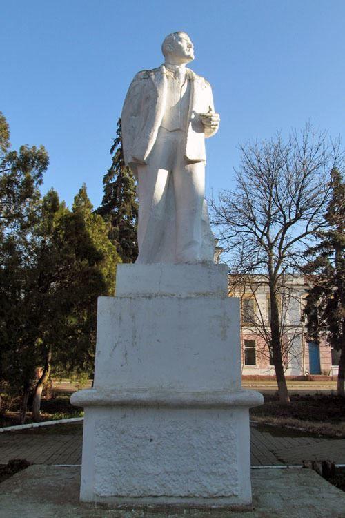 Памятник В.И. Ленину в городе Белореченск