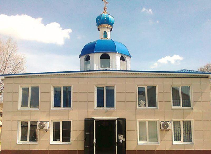 Свято-Покровский храм в городе Белореченск