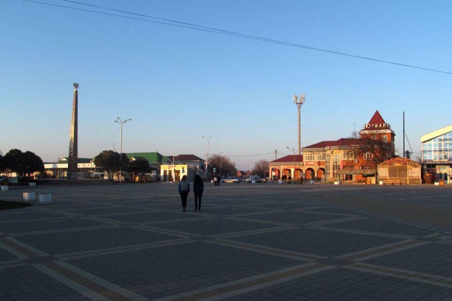 Смотреть красивое фото улицы города Белореченск бесплатно