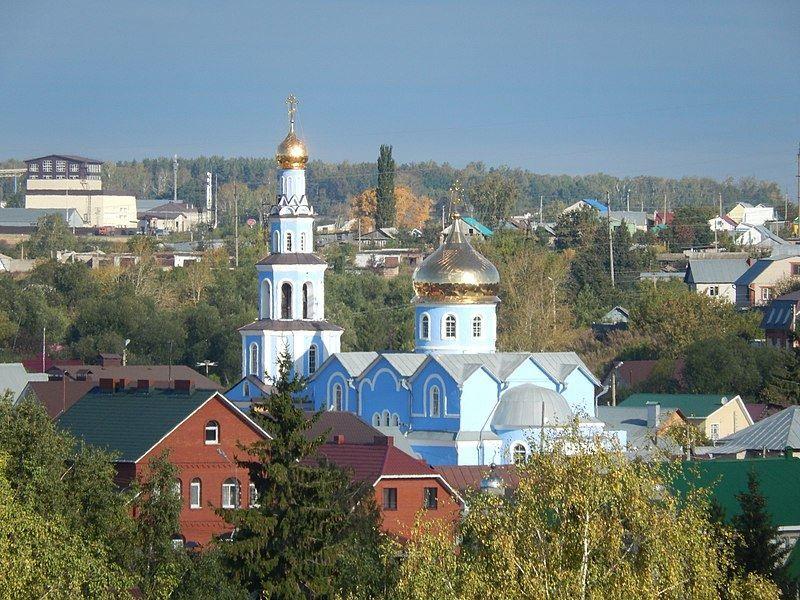 Казанско-Богородицкая церковь город Бугульма