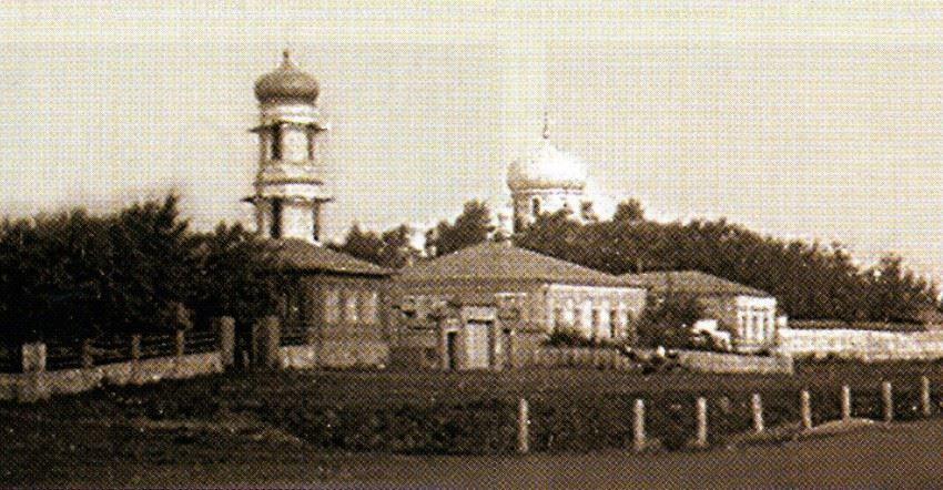Смотреть лучшее старинное фото Казанско-Богородицкий женский монастырь город Бугульма