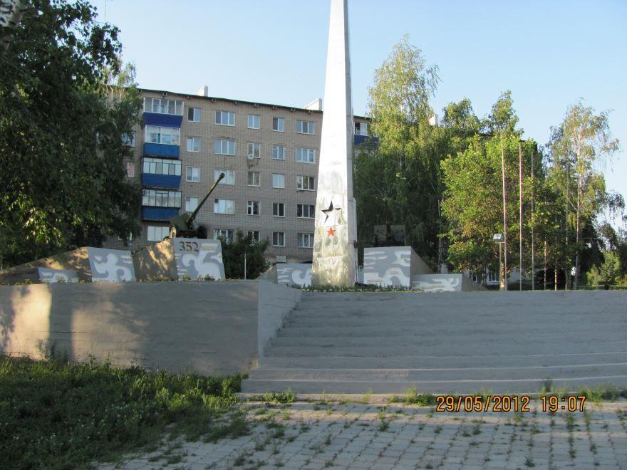 Мемориал в городе Бугульма 2018