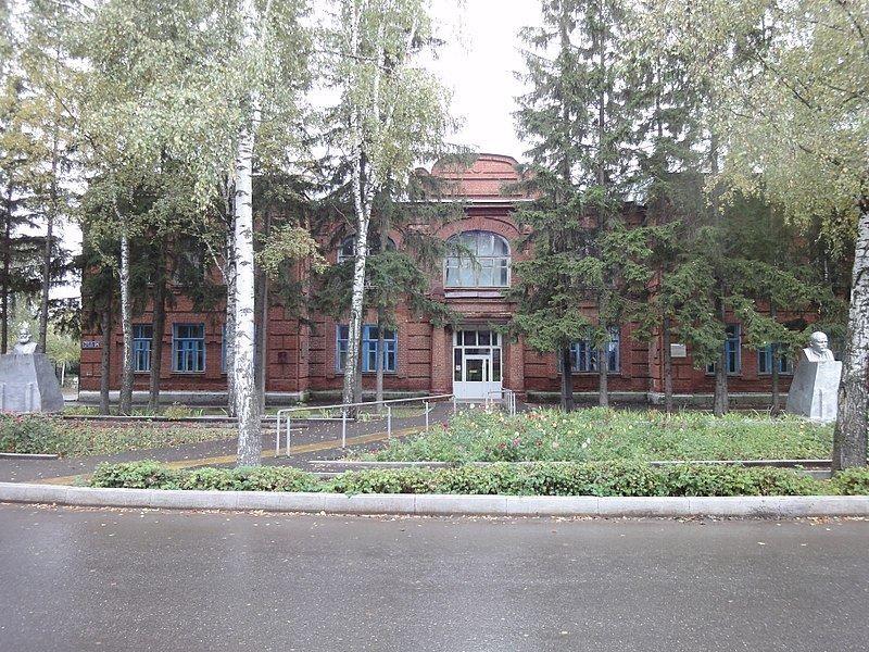 Здание Женской гимназии татарская школа город Бугульма