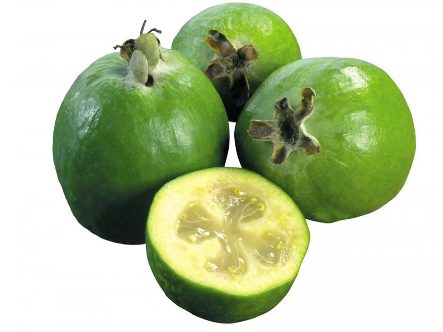 Из фрукта фейхоа получается вкусное варенье