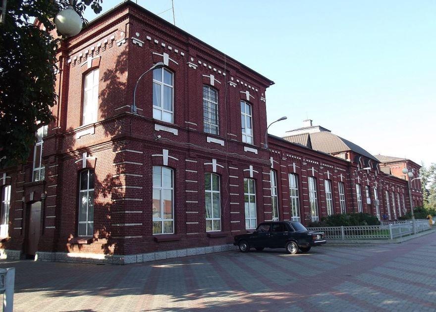 Железнодорожный вокзал город Беслан