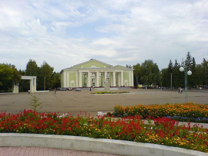 Дворец культуры город Ишимбай