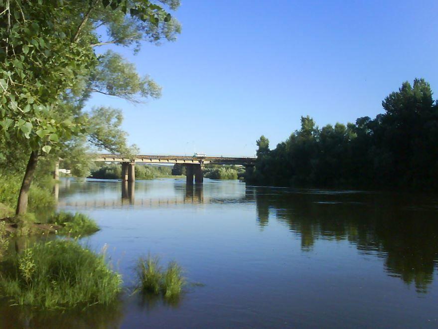 Мост через реку Белую город Ишимбай