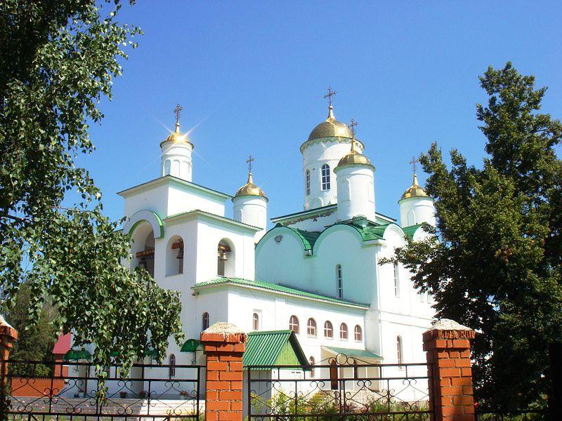 Православный Свято-Троицкий храм город Ишимбай