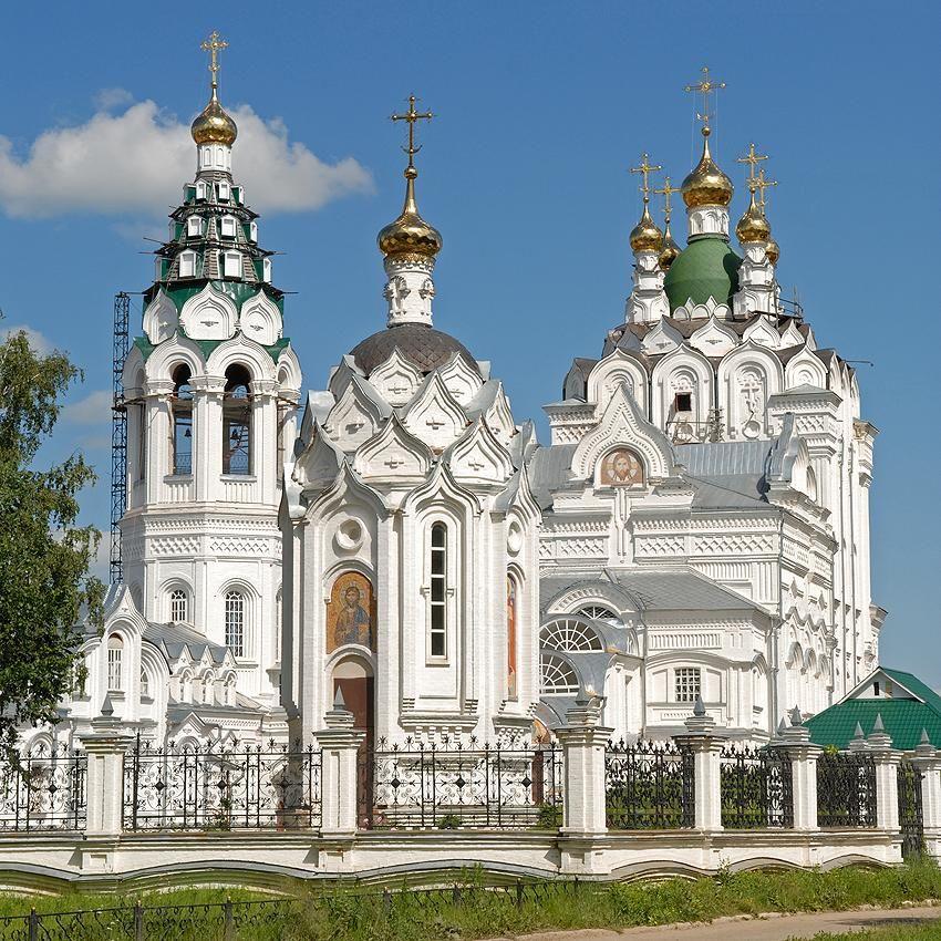 Церковь Пресвятой Троицы город Йошкар ола