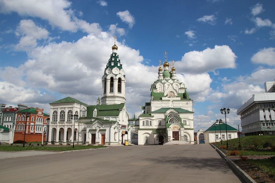 Троицкая церковь город Йошкар ола