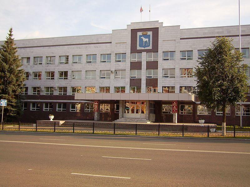 Здание мэрии город Йошкар ола