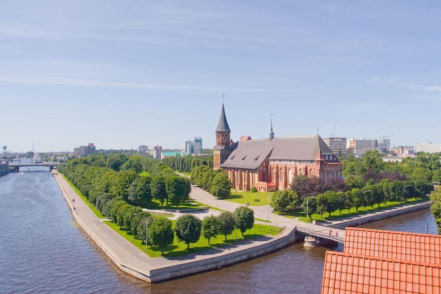 Скачать онлайн бесплатно лучшее фото города Калининград и его красивый вид
