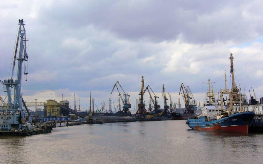 Речной порт города Калининград