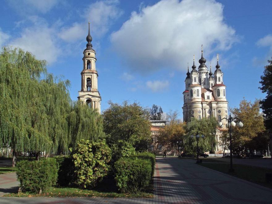 Церковь Косьмы и Дамиана город Калуга