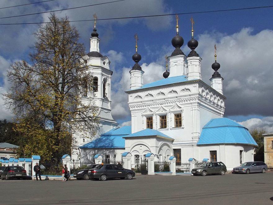 Церковь Покрова на Рву город Калуга