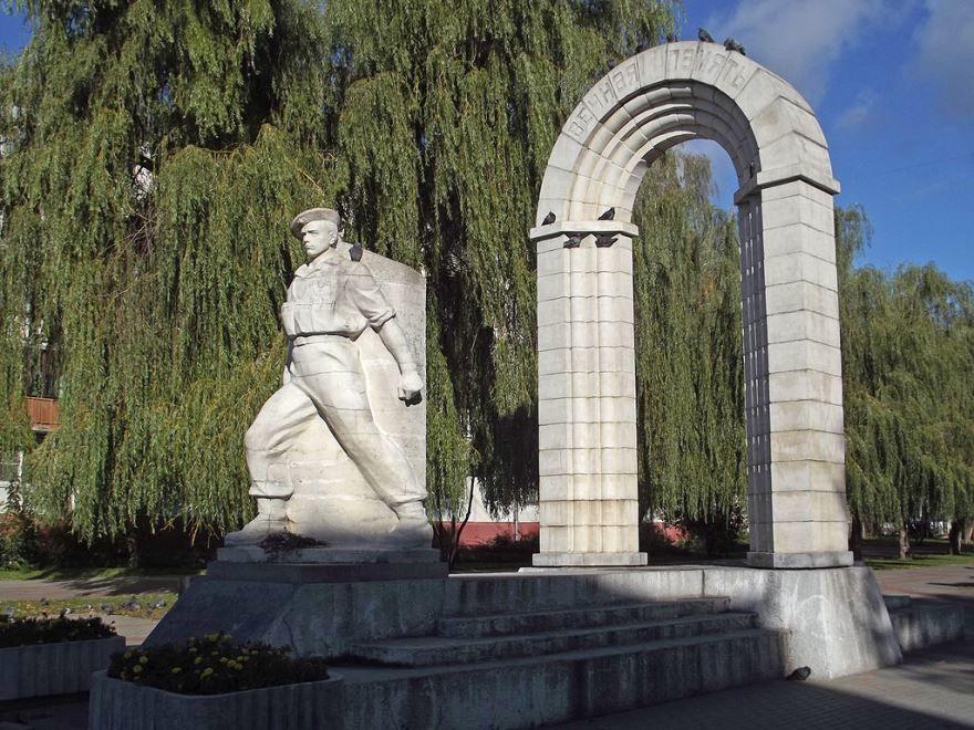 Памятник павшим в локальных конфликтах город Калуга