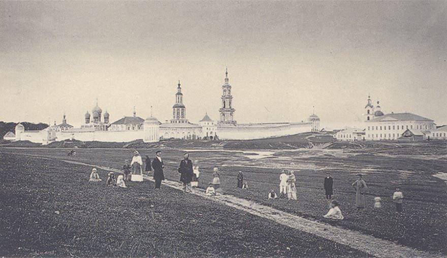 Смотреть лучшее старинное фото дореволюционный город Калязин в хорошем качестве