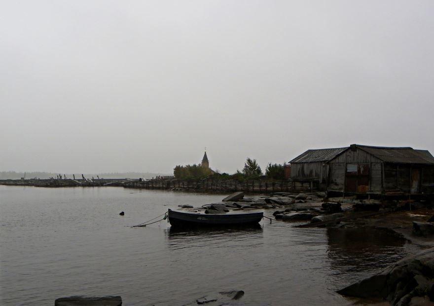 Причалы порта города Кемь