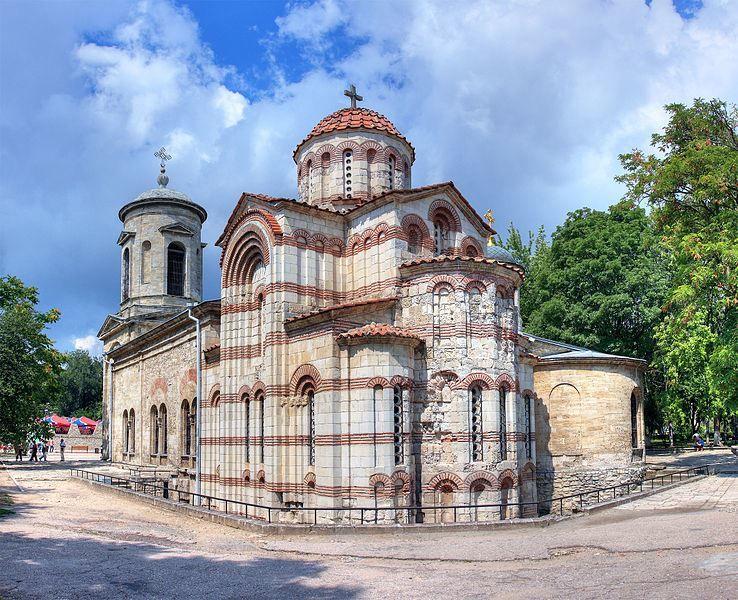 Церковь Иоанна Предтечи 8 век город Керчь