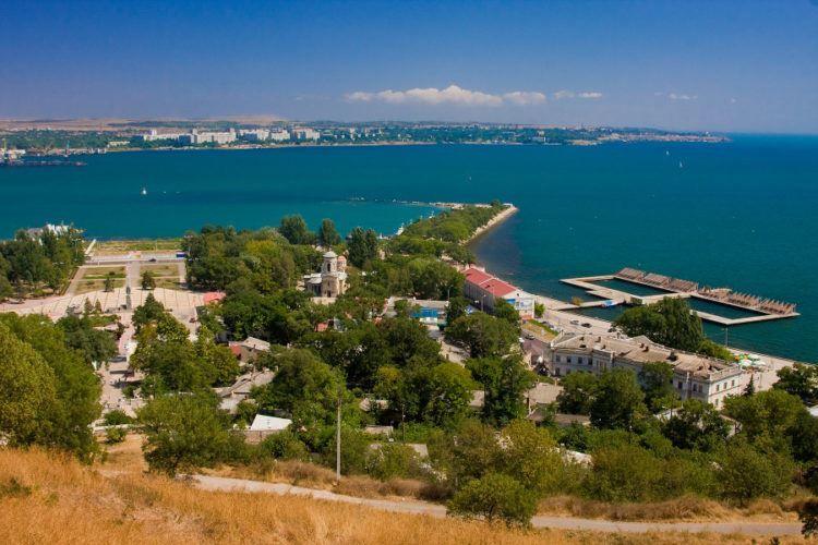 Смотреть красивое фото город Керчь город двух морей