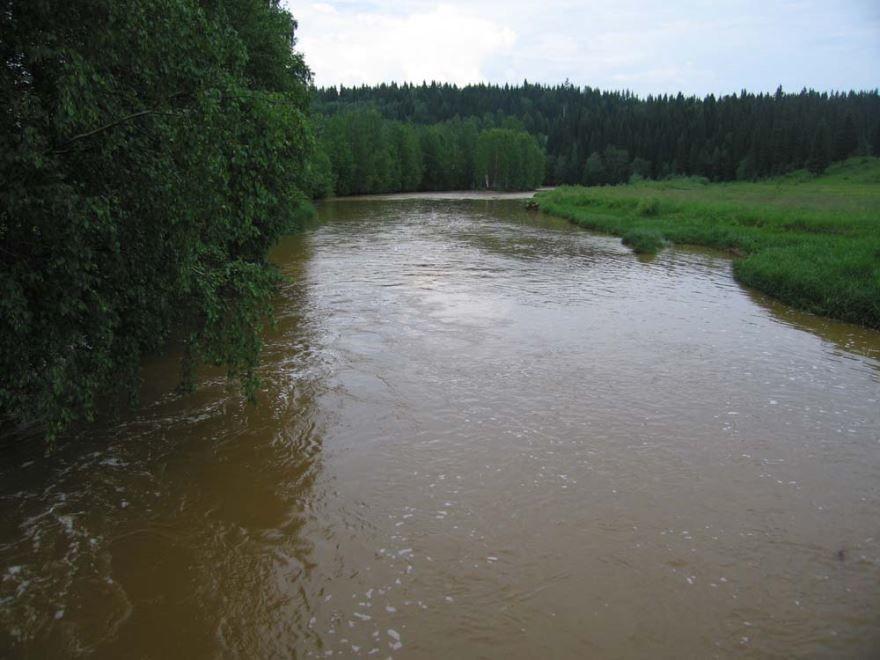 Смотреть красивое фото река Кизел в хорошем качестве