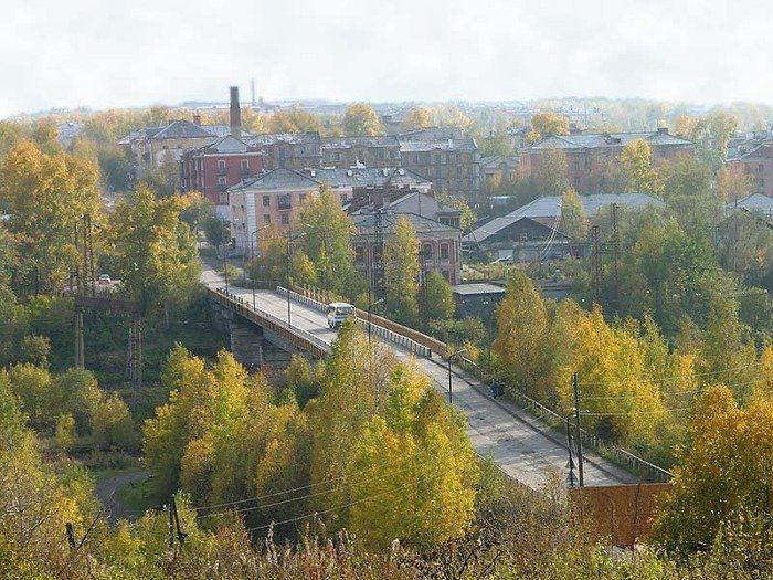 Смотреть фото красивый вид города Кизел бесплатно