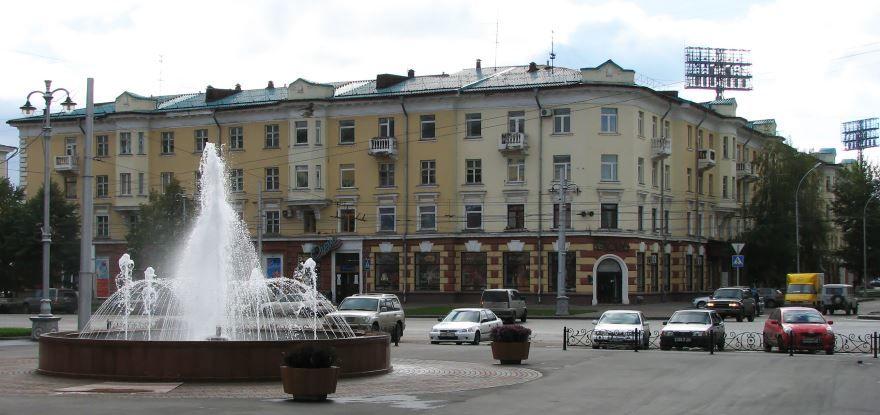 Смотреть лучшее фото города Кемерово красивый фонтан