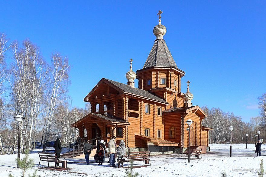 Храм в городе Кемерово