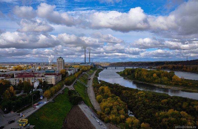 Смотреть лучшее фото города Кемерово Набережная города