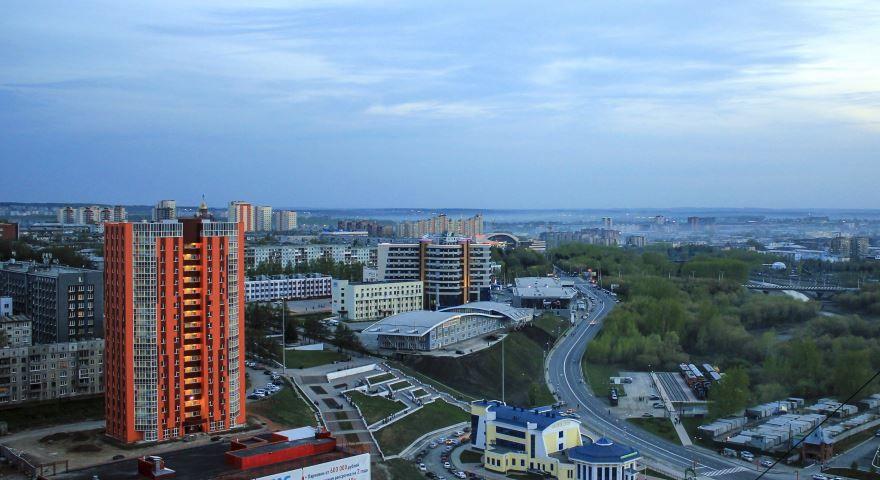 Смотреть лучшее фото панорама города Кемерово