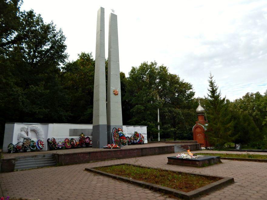 Братская могила советских воинов погибших в годы Великой Отечественной войны город Кимовск