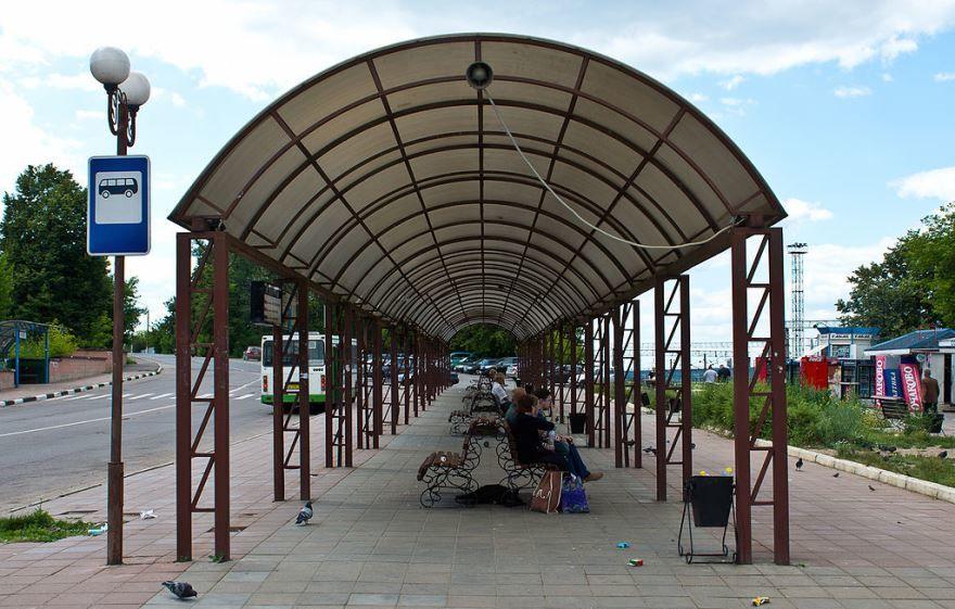 Смотреть красивое фото перрон в городе Кашира на железнодорожной станции